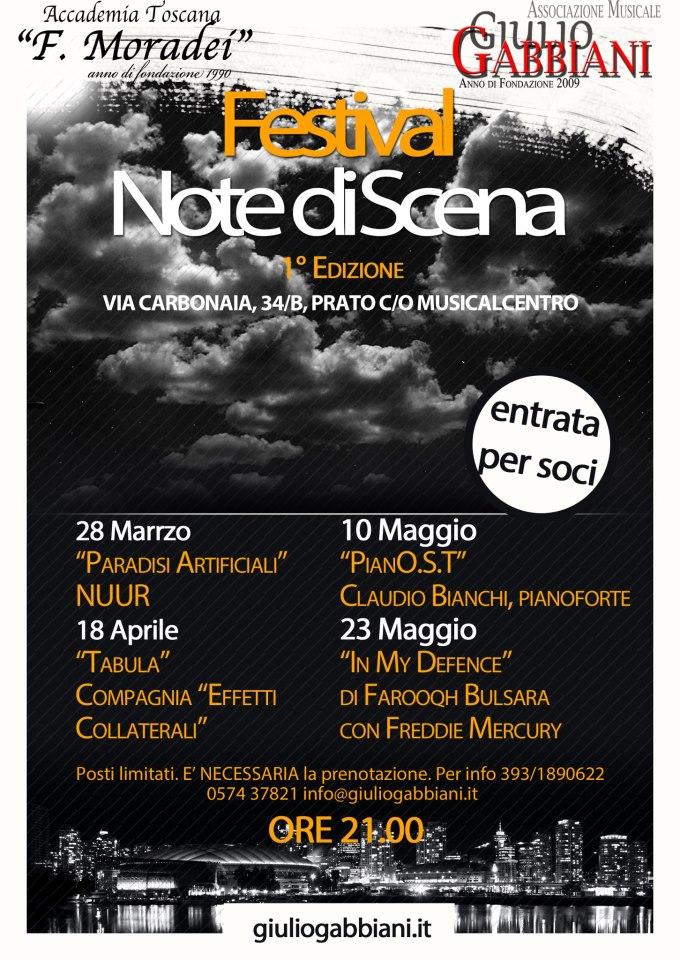 """Festival """"Note di Scena"""""""